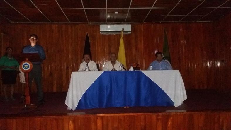 Autoridades de Sede Galapagos