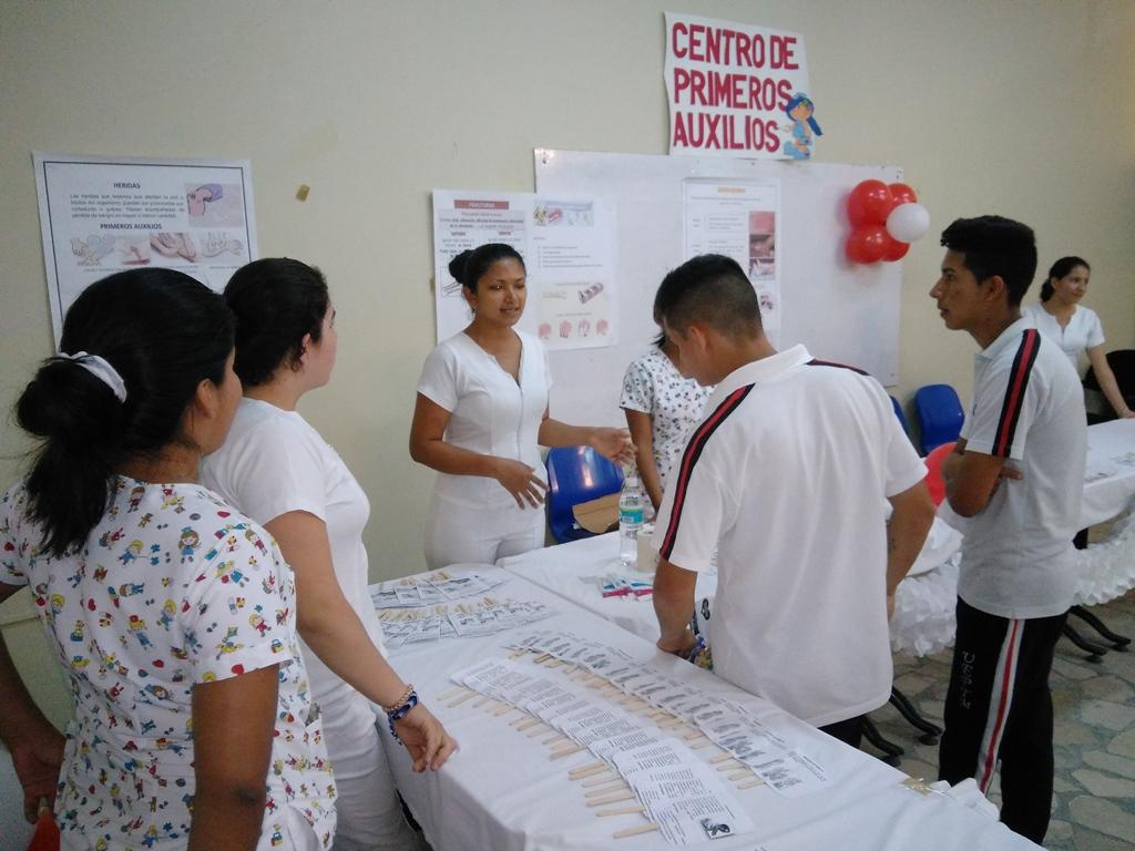 PRIMEROS AUXILIOS CARRERA DE ENFERMERÍA