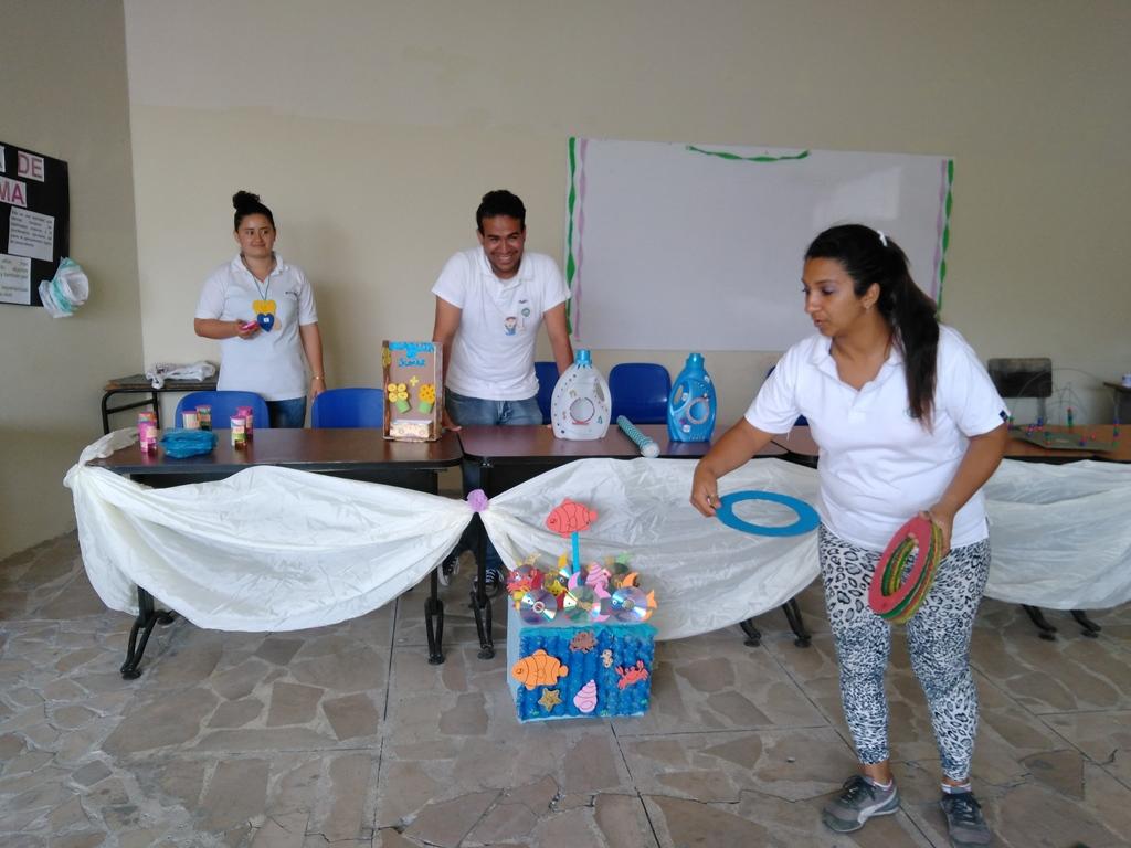 RECURSOS DIDÁCTICOS CON MATERIAL RECICLADO CARRERA DE PARVULARIA 2