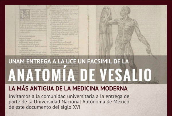 La UNAM entrega a la Universidad Central el facsímil de un documento histórico del Siglo XVI