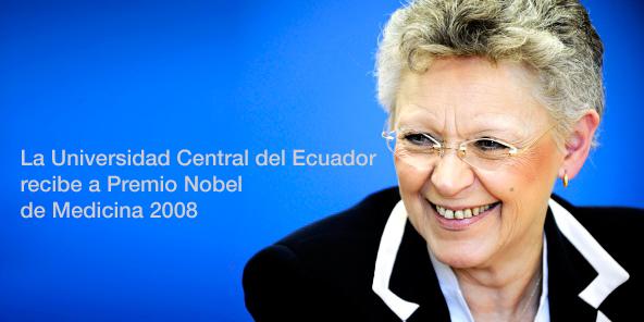 Universidad Central del Ecuador recibirá a Premio Nobel de Medicina 2008