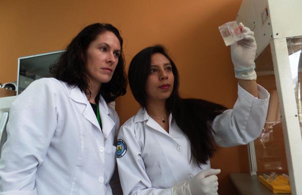 Karen Tufiño después del primer lugar, se afianza en la investigación científica