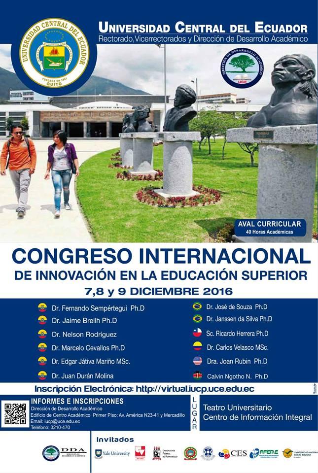 Congreso Internacional de Innovación en la Educación Superior